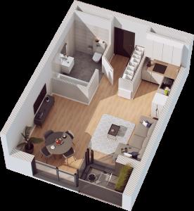 1 pokój