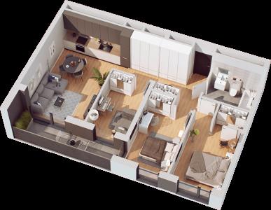 4 pokoje